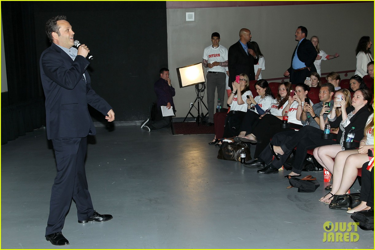 Vince vaughn 39 internship 39 special screening in new york for Internship new york