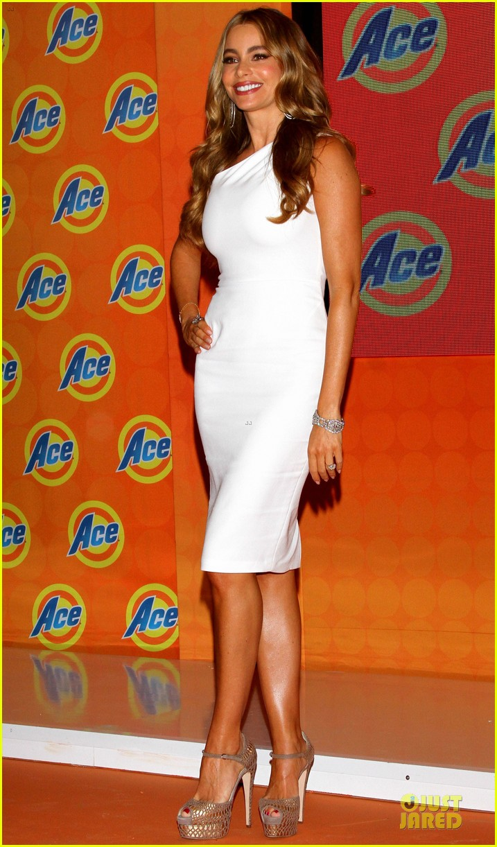sofia vergara ace detergent press conference 012900313