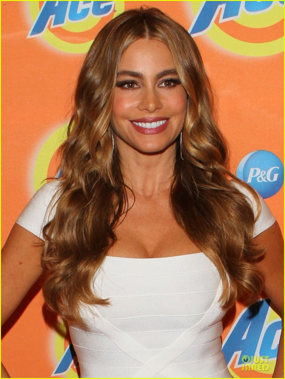 sofia vergara ace detergent press conference 022900314