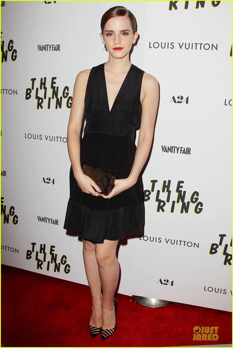 emma watson bling ring nyc screening 092889279