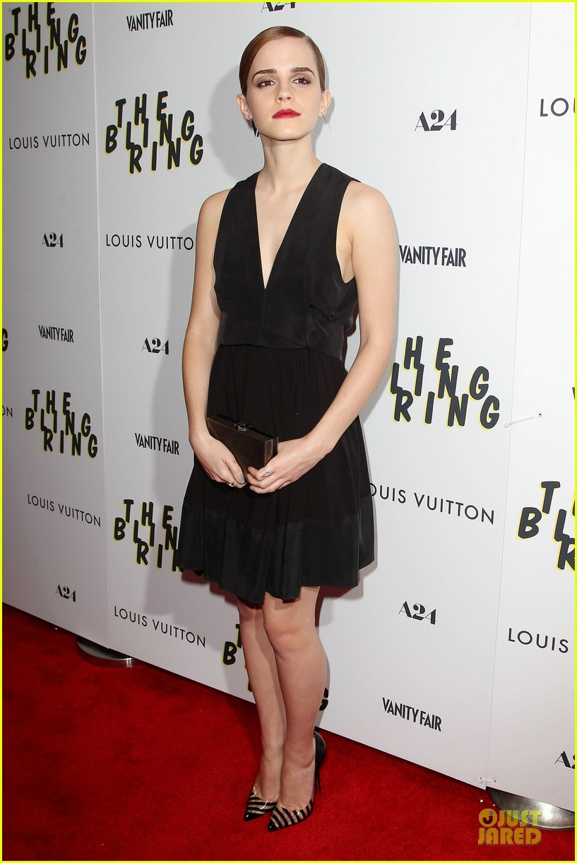 emma watson bling ring nyc screening 102889280