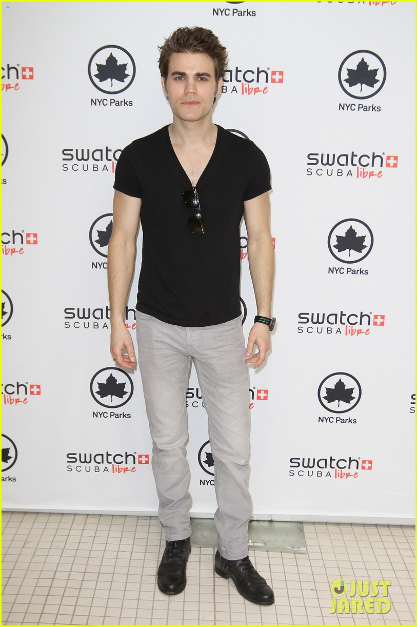 paul wesley swatch scuba libre days launch 03