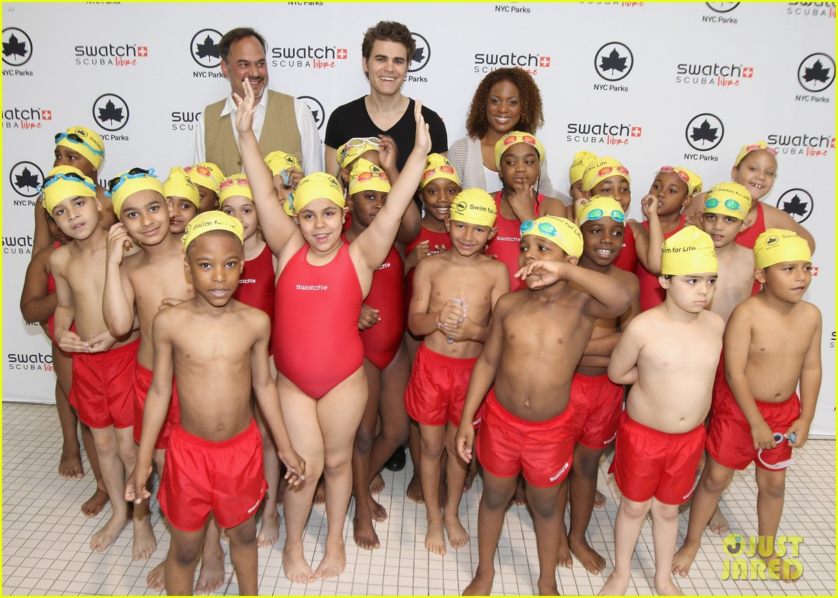 paul wesley swatch scuba libre days launch 042885446