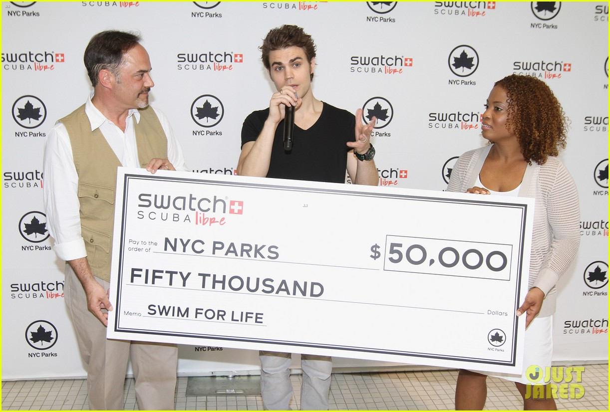 paul wesley swatch scuba libre days launch 052885447