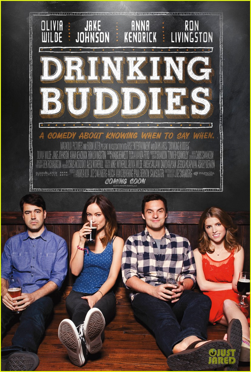 olivia wilde drinking buddies official trailer poster 052896227