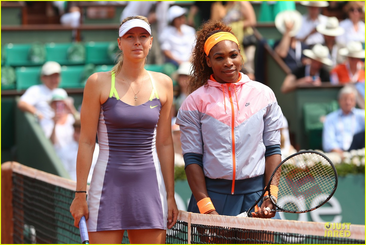 serena williams wins second french open after maria sharapova defeat 042886814