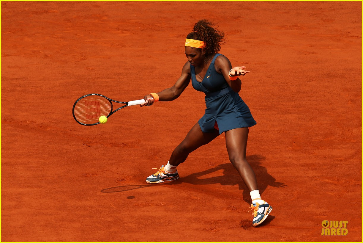serena williams wins second french open after maria sharapova defeat 112886821