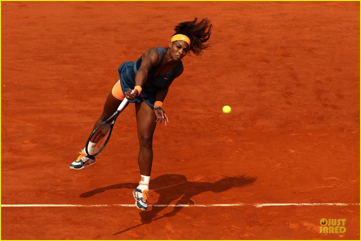 serena williams wins second french open after maria sharapova defeat 122886822