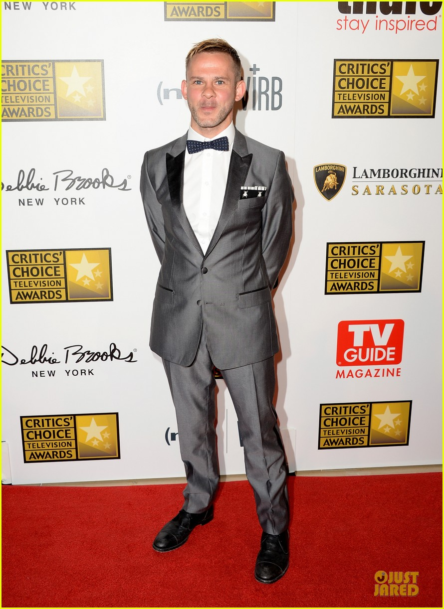patrick wilson dominic monaghan critics choice television awards 2013 red carpet 052888679