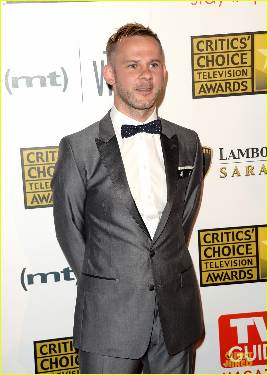 patrick wilson dominic monaghan critics choice television awards 2013 red carpet 072888681