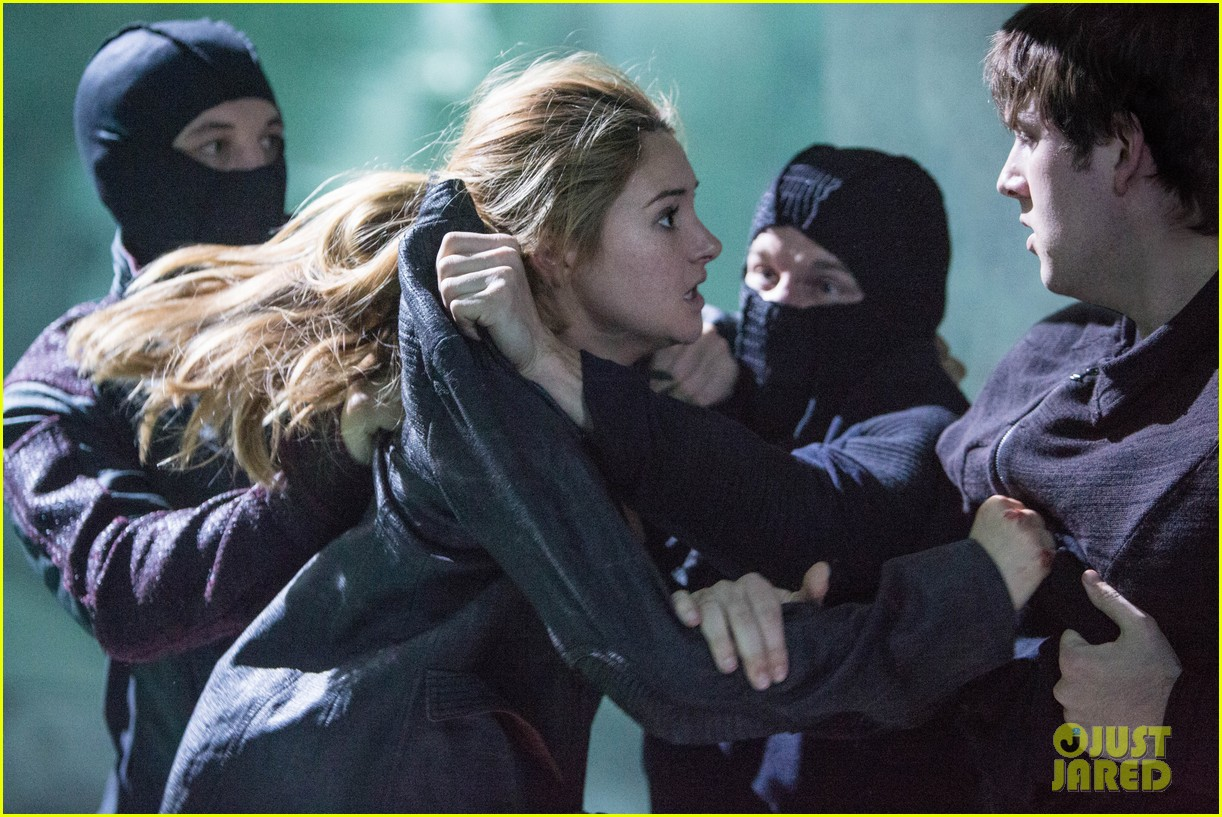 Shailene Woodley and Theo James Divergent