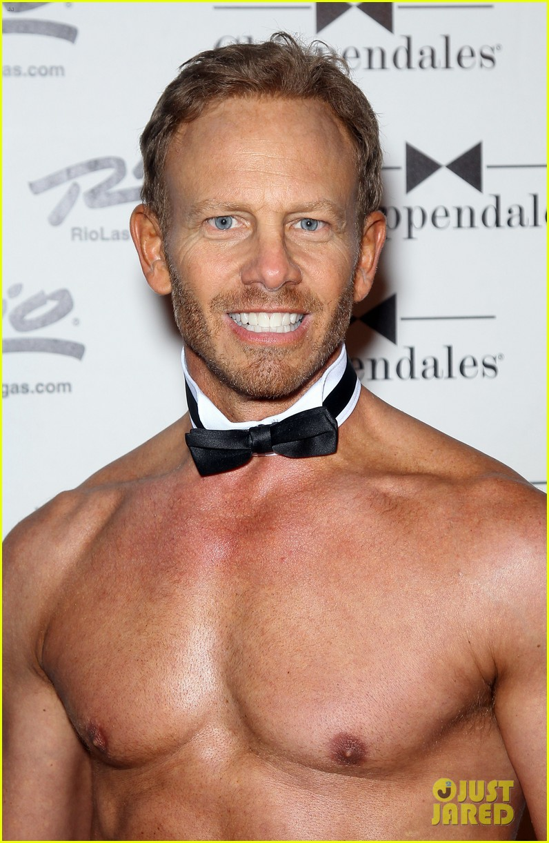ian ziering shirtless chippendales debut 022887410