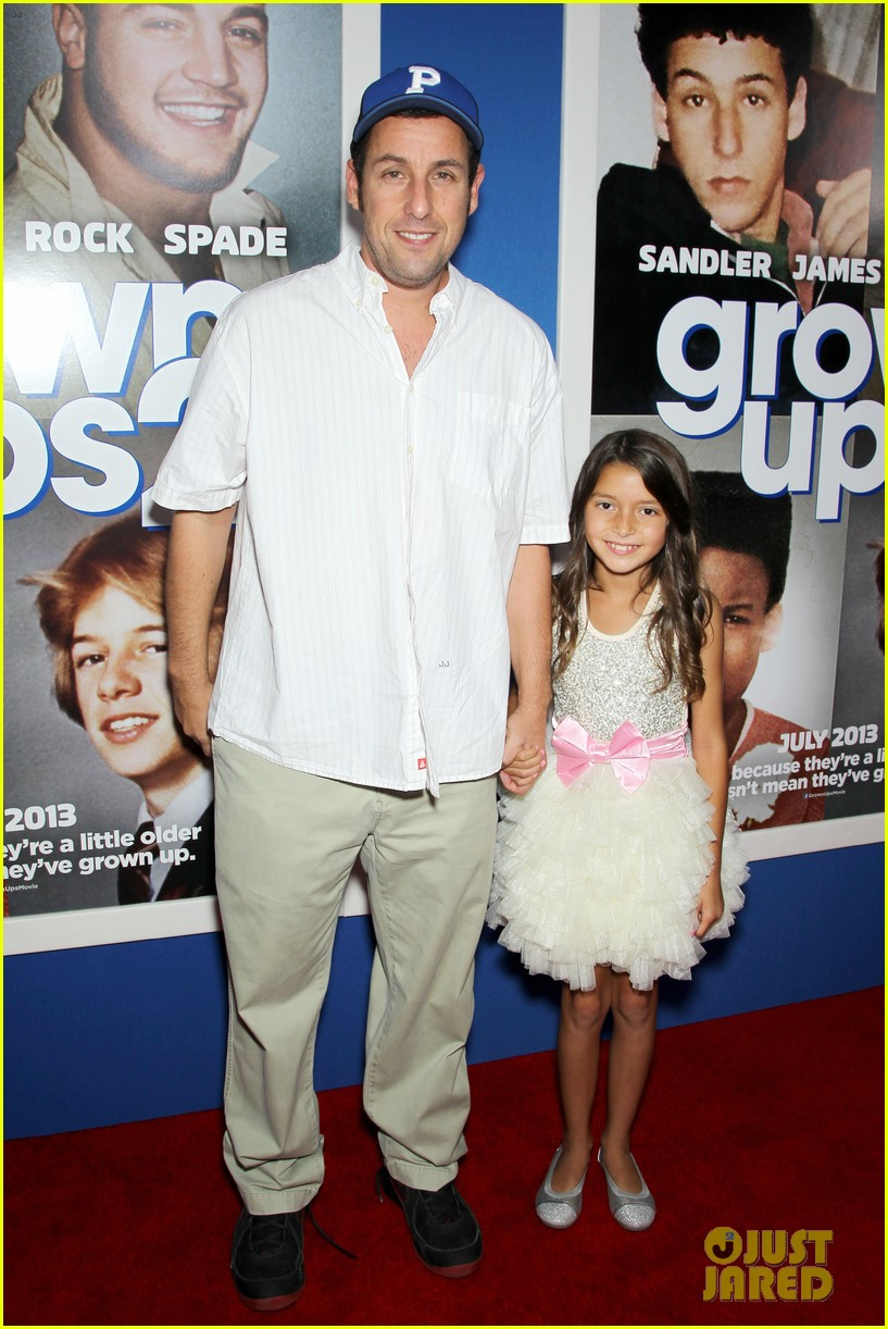adam sandler salma hayek grown ups 2 nyc premiere 062907483