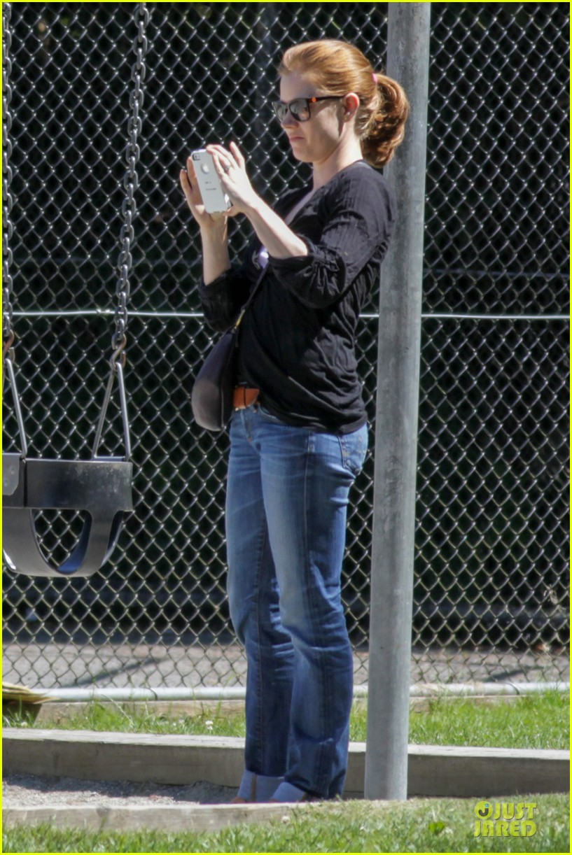 amy adams darren le gallo park date with aviana 112905250