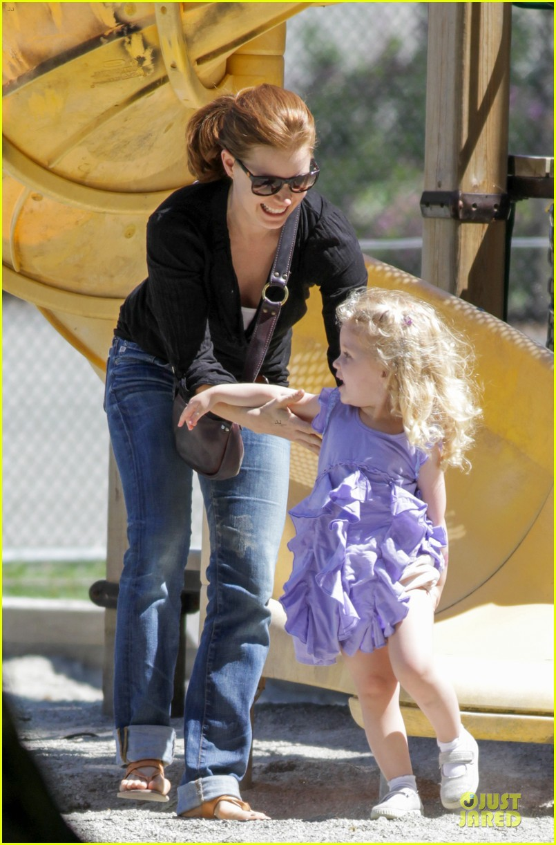 amy adams darren le gallo park date with aviana 132905252