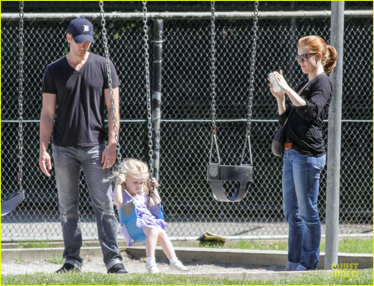amy adams darren le gallo park date with aviana 142905253