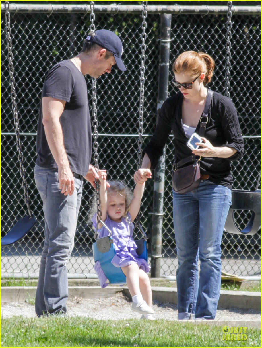 amy adams darren le gallo park date with aviana 222905261