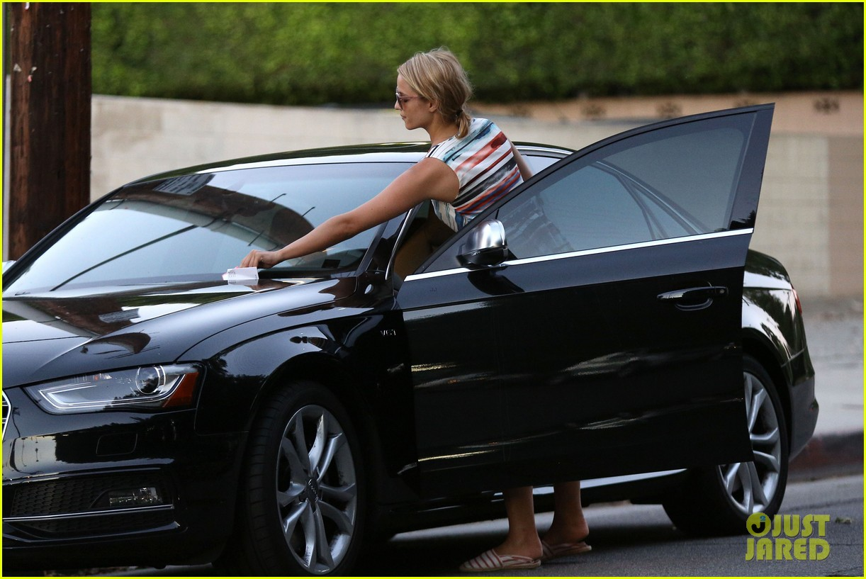 dianna agron kisses her new puppy on wednesday outing 072911283
