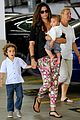camila alves aquarium shopping after doctor's office with boys 01