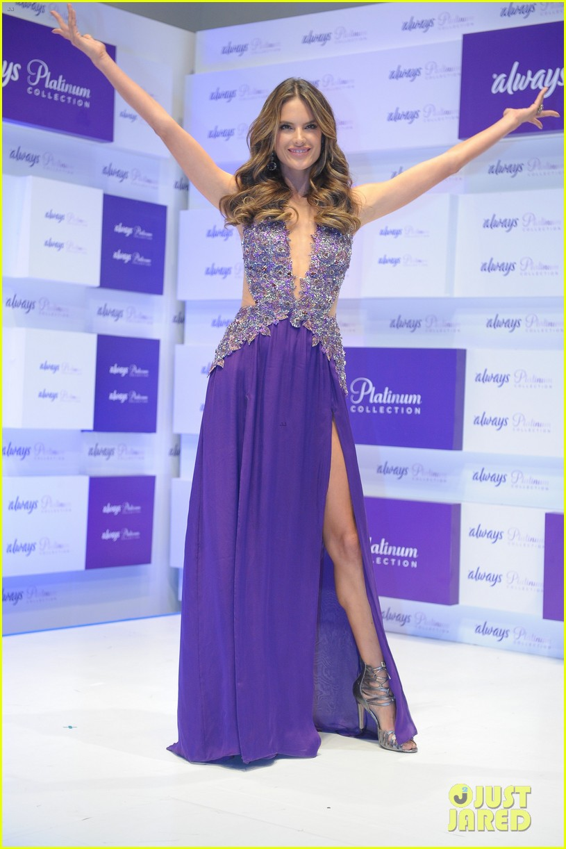 alessandra ambrosio always platinum collection launch 132911416