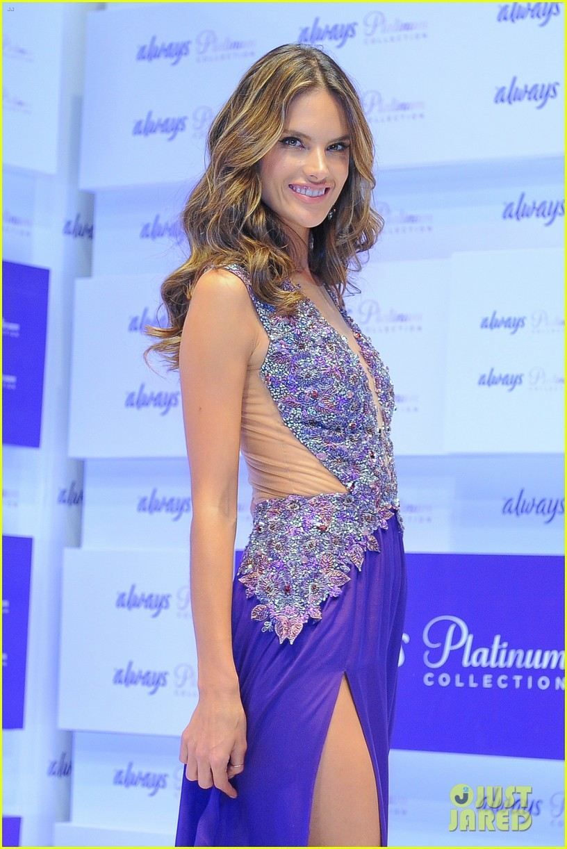 alessandra ambrosio always platinum collection launch 142911417