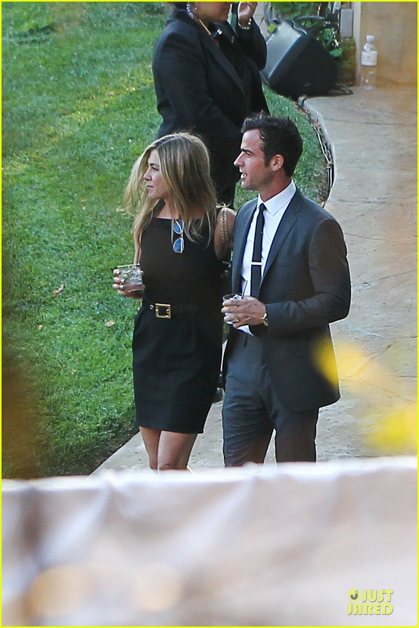 jennifer aniston justin theroux jimmy kimmel wedding guests 042909120
