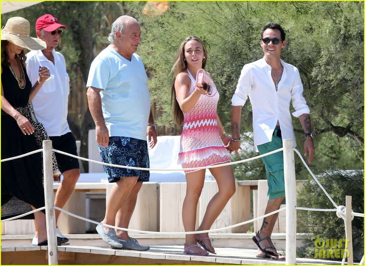 marc anthony chloe green st tropez vacation 06