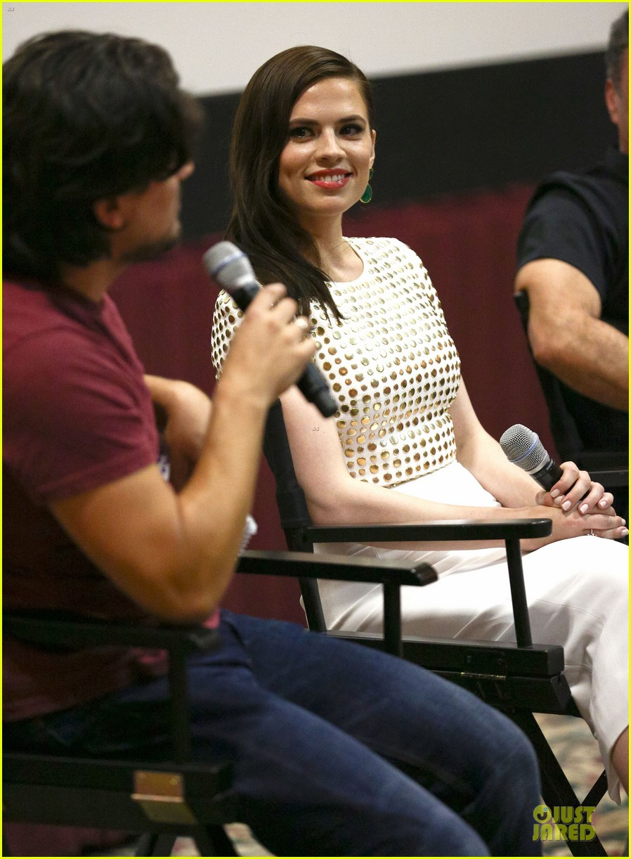 hayley atwell marvel one shot agent carter screening 022913091