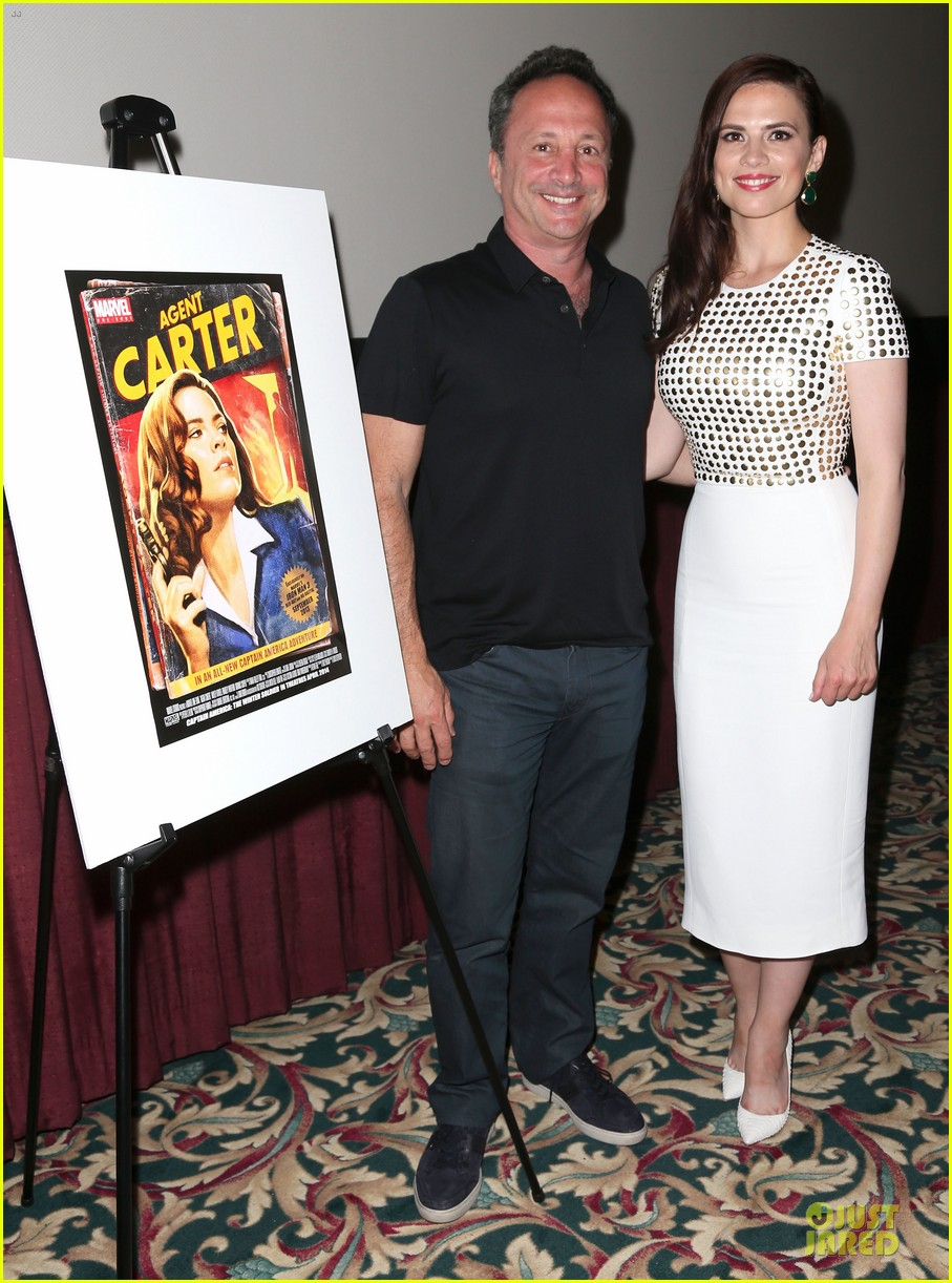 hayley atwell marvel one shot agent carter screening 032913092