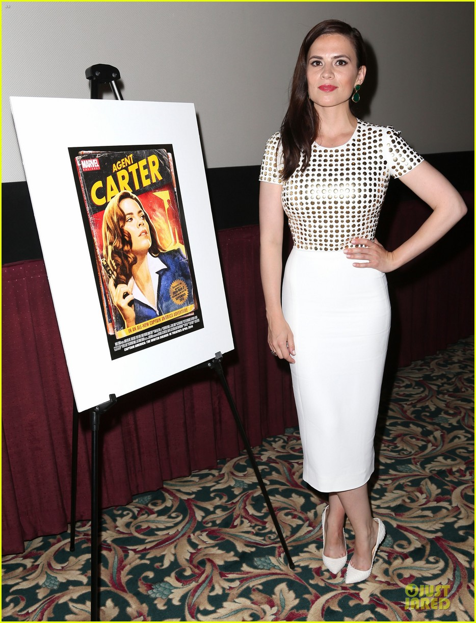 hayley atwell marvel one shot agent carter screening 052913094