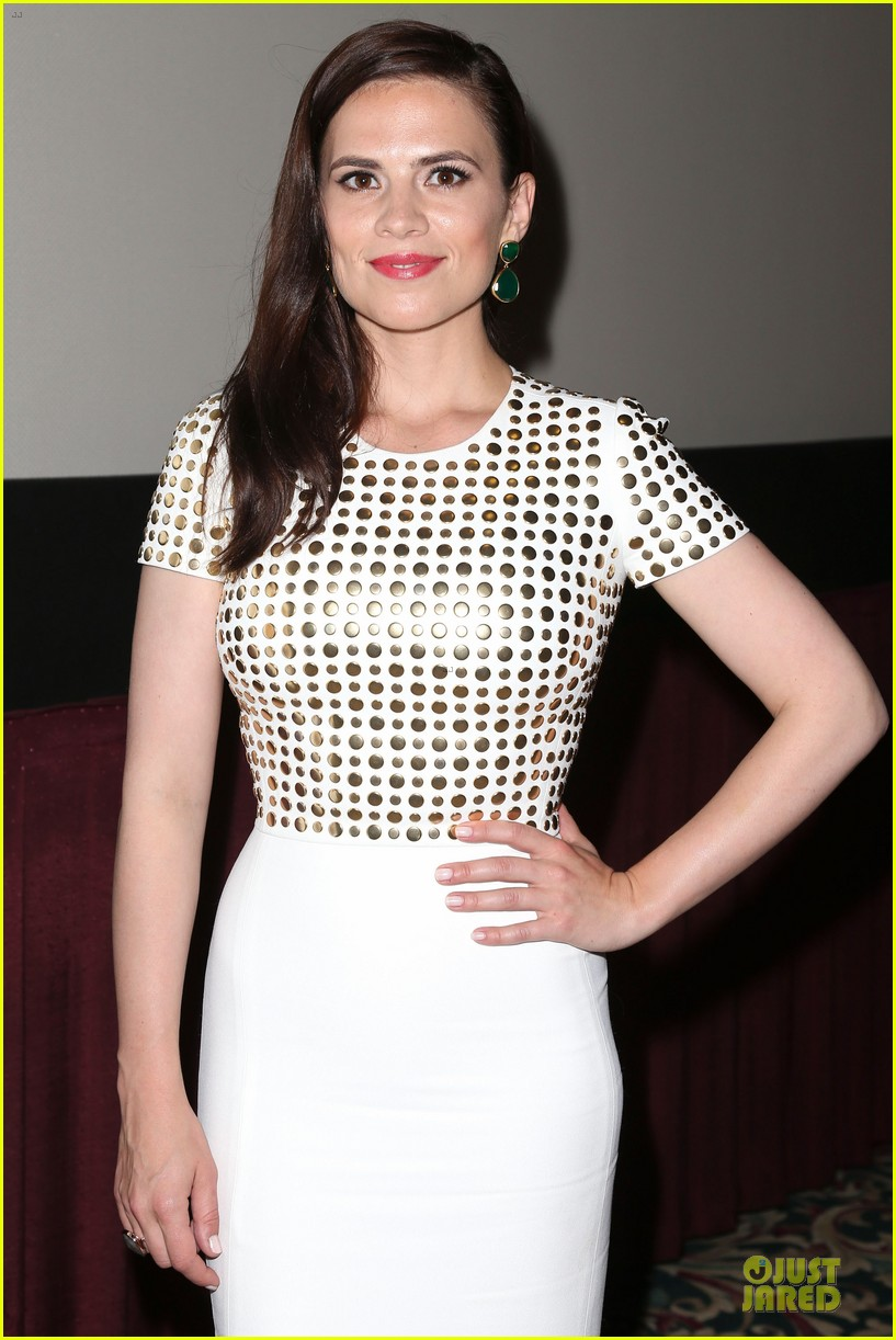 hayley atwell marvel one shot agent carter screening 072913096