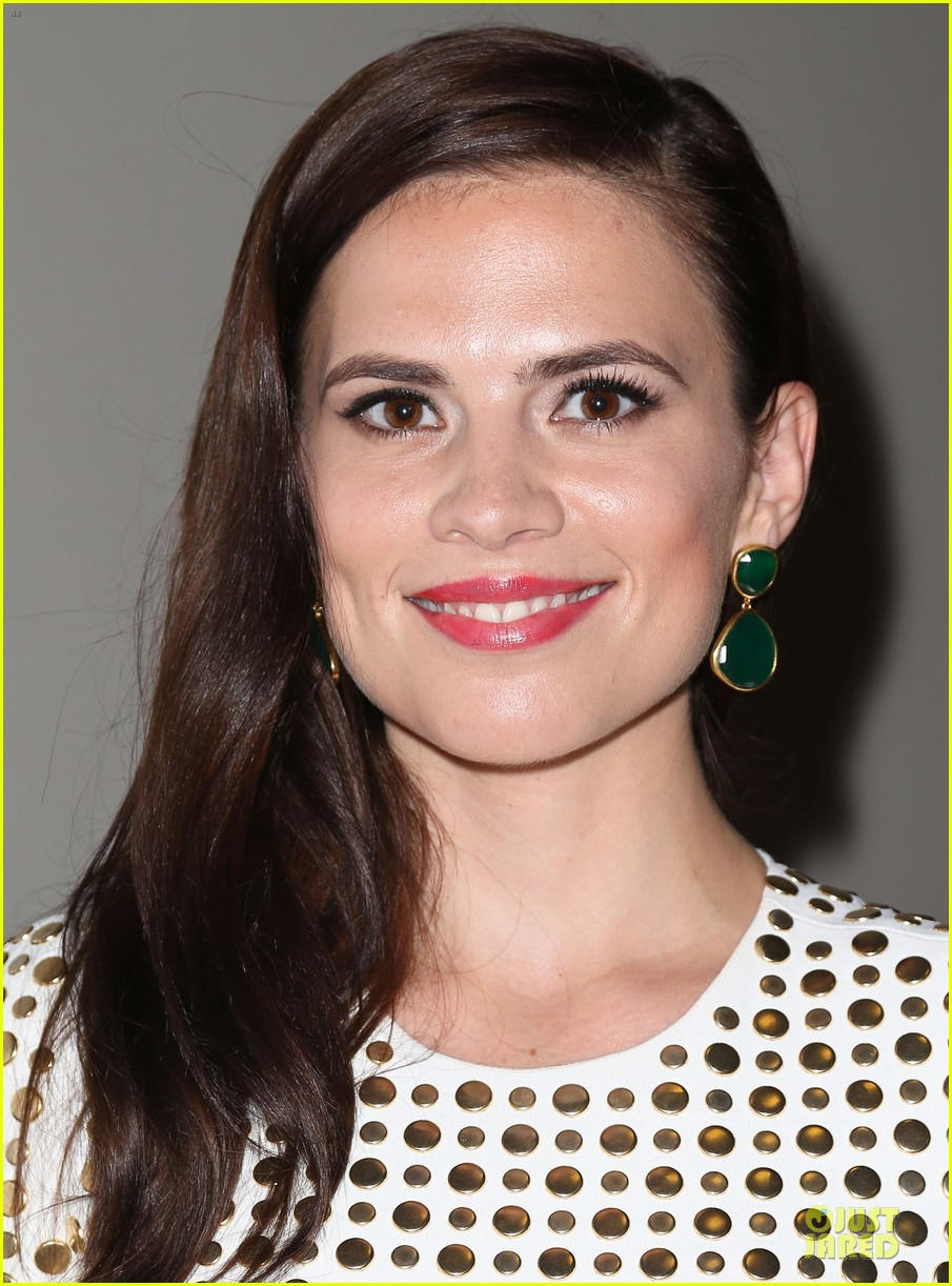 hayley atwell marvel one shot agent carter screening 082913097