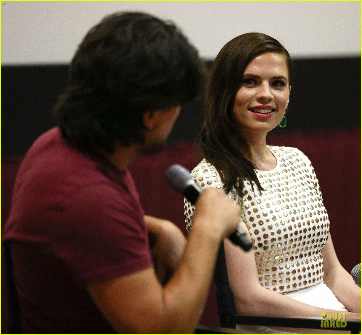 hayley atwell marvel one shot agent carter screening 102913099