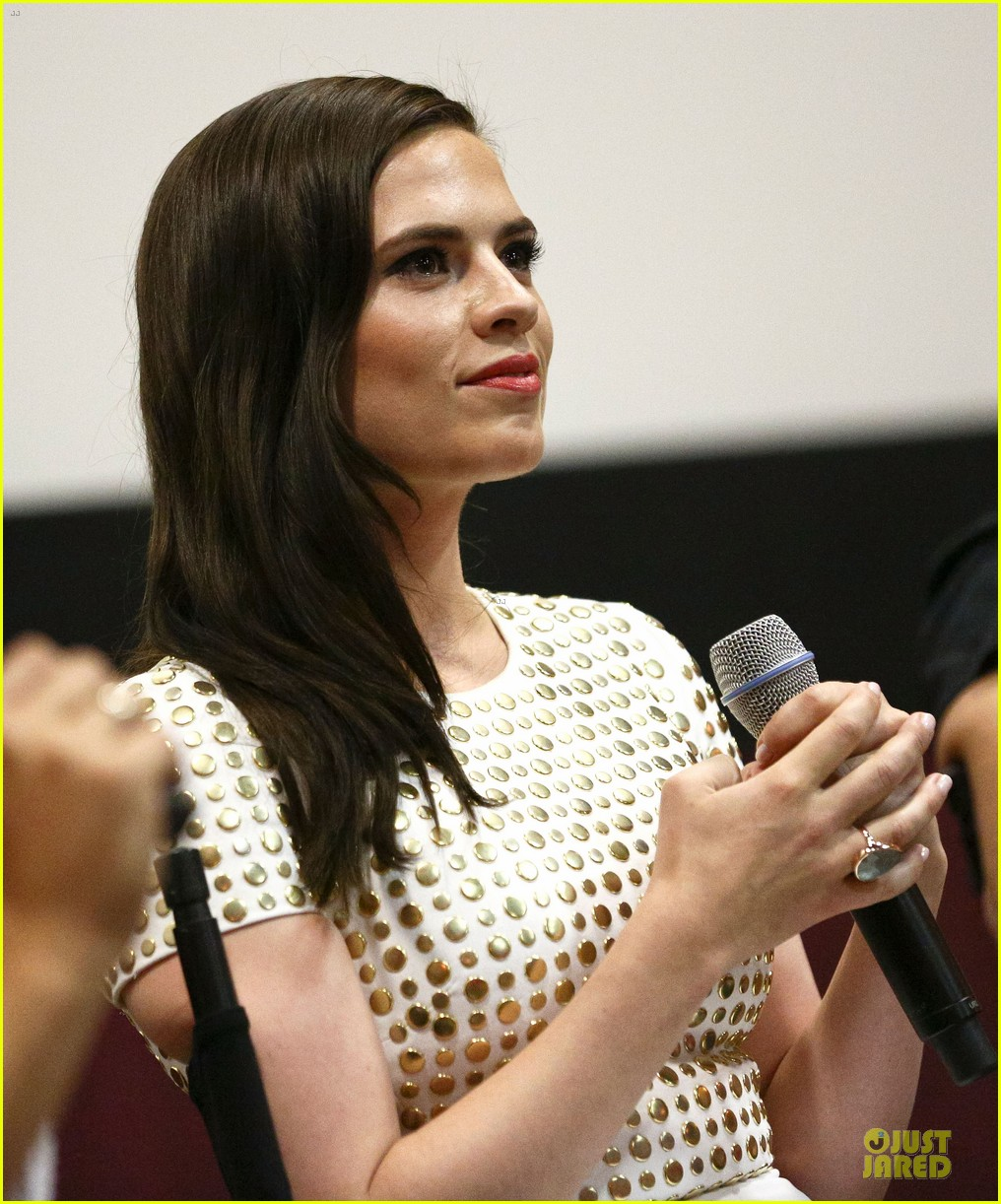 hayley atwell marvel one shot agent carter screening 132913102