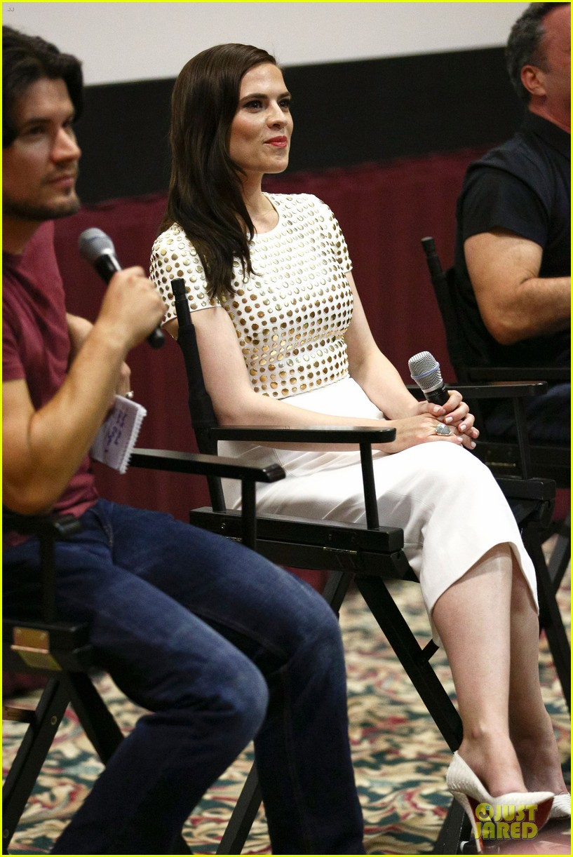 hayley atwell marvel one shot agent carter screening 152913104