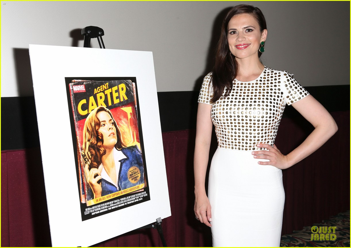 hayley atwell marvel one shot agent carter screening 172913106
