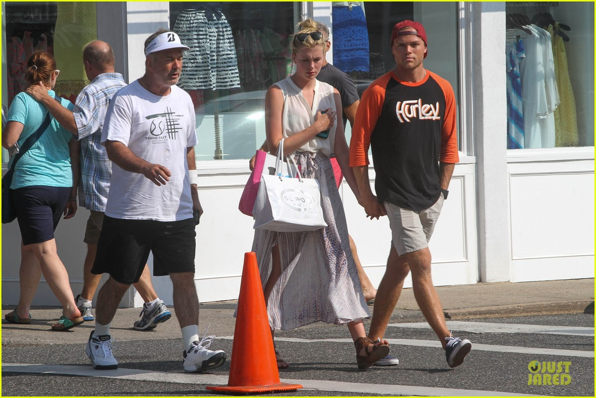 ireland baldwin slater trout hold hands in the hamptons 032914420