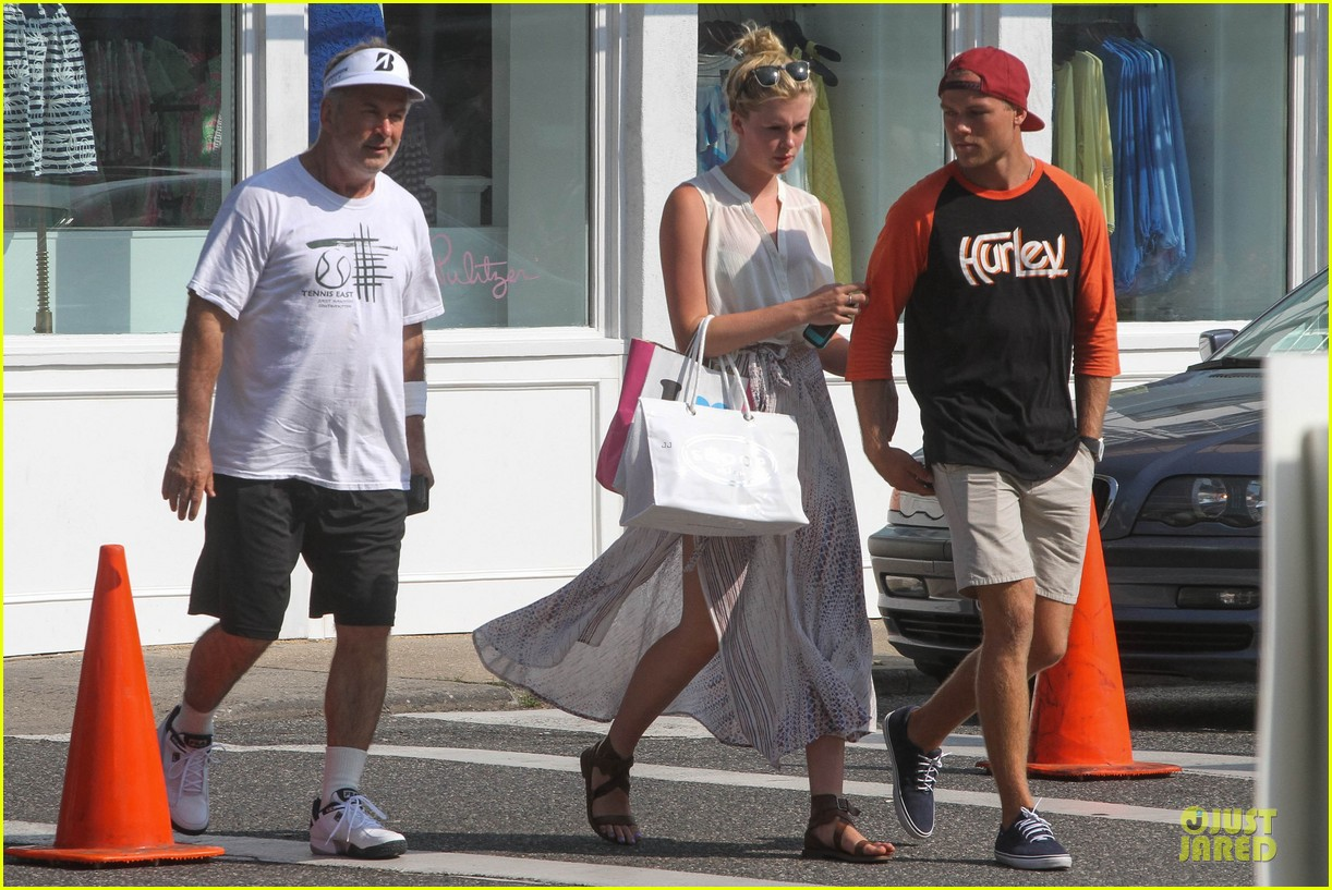 ireland baldwin slater trout hold hands in the hamptons 08