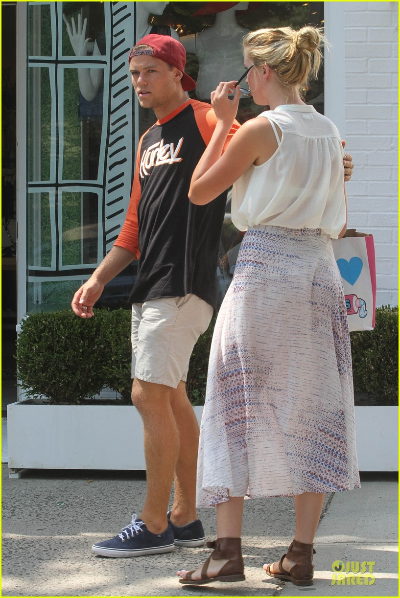 ireland baldwin slater trout hold hands in the hamptons 172914434