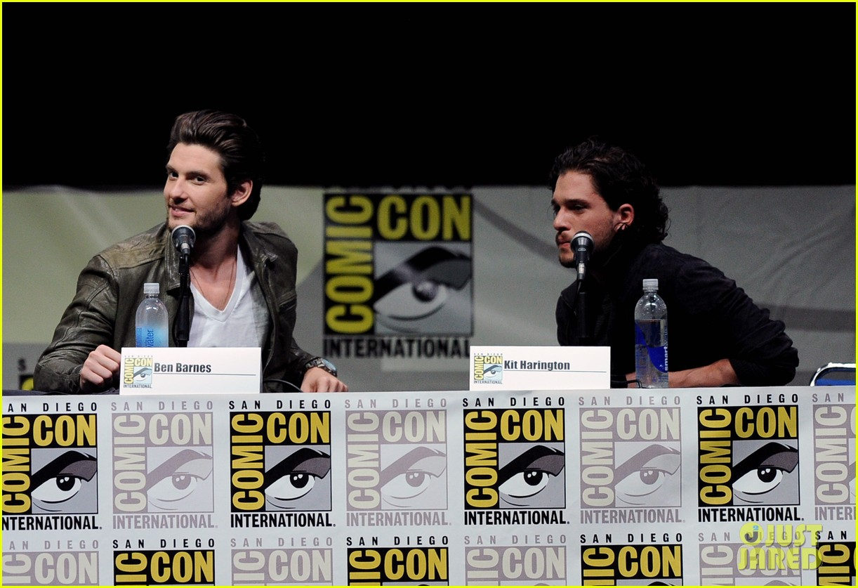 ben barnes kit harington seventh son comic con panel 09
