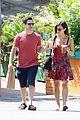 justin bartha lia smith iced coffee sharing couple 10