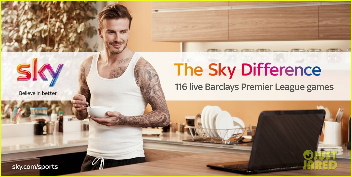david beckham sky sports tv commercial ad campaign 032909732