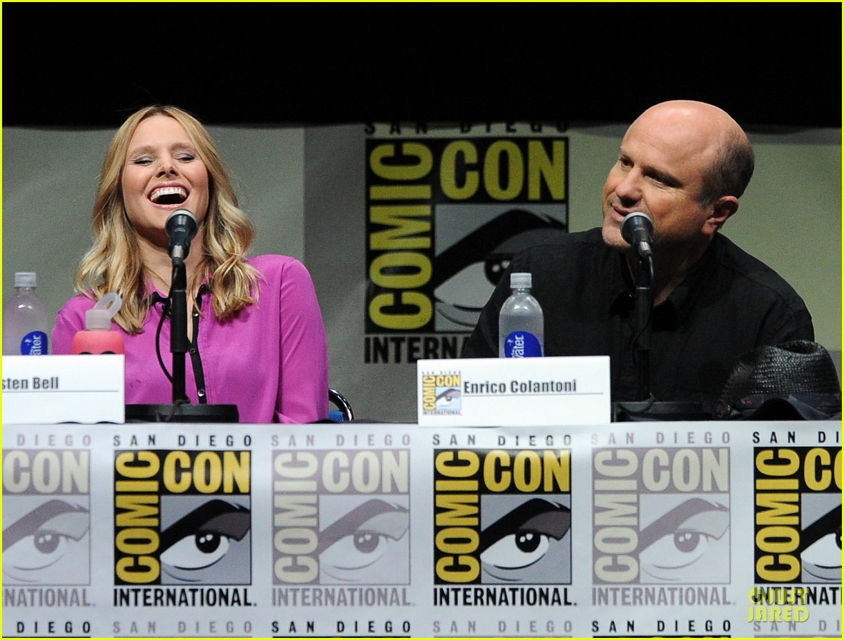 kristen bell chris lowell veronica mars qa at comic con 122912544