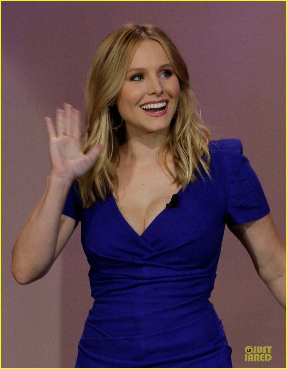 kristen bell jake johnson tonight show with jay leno guests 02