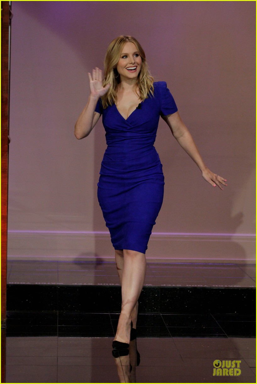 kristen bell jake johnson tonight show with jay leno guests 032919882