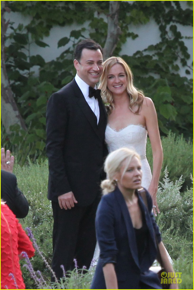 kristen bell dax shephard jimmy kimmel molly mcnearney wedding pic 07