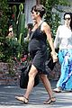 halle berry pregnancy glowing fabric shopping 10