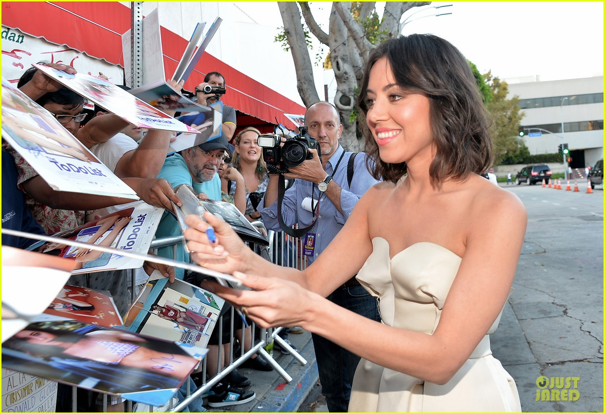 Aubrey Plaza The To Do List Premiere