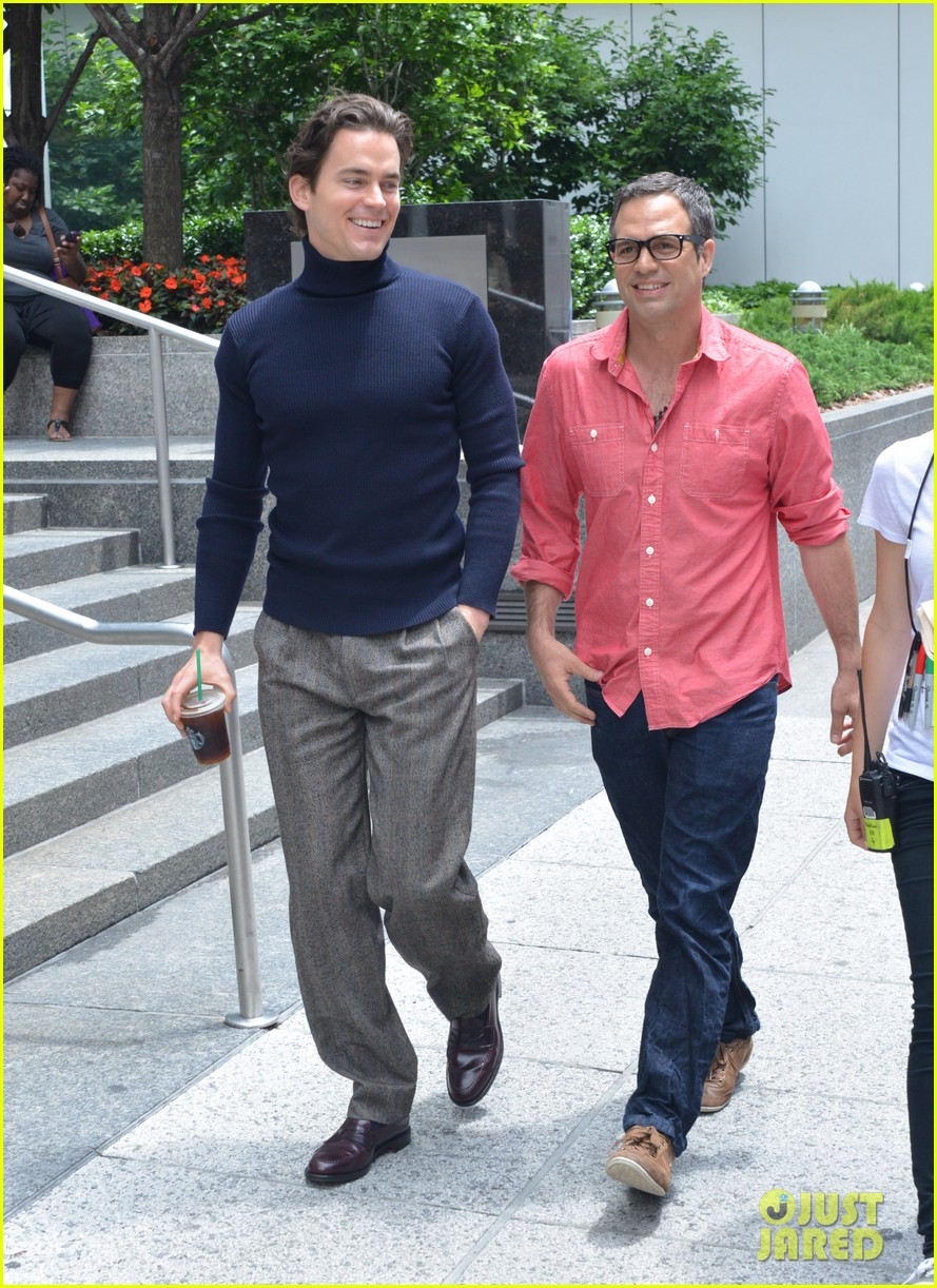 matt bomer taylor kitsch film normal heart in nyc 302903279