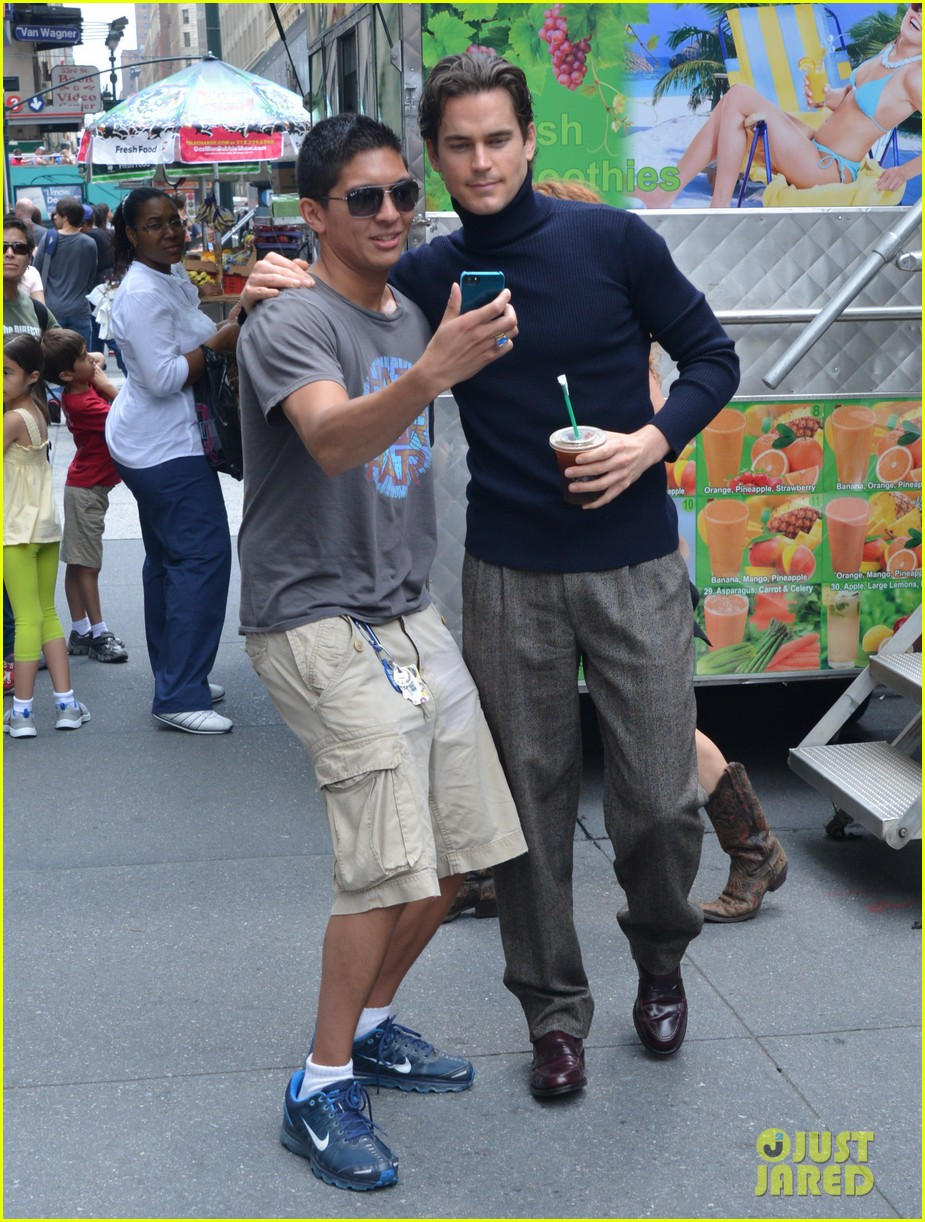 matt bomer taylor kitsch film normal heart in nyc 342903283